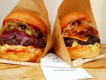 フードフェスには欠かせない「グルメバーガー」。ここ数年、ドイツ各地でグルメなバーガーショップが急増中。