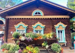「オーストリア」 いかにもオーストリアっぽい山小屋