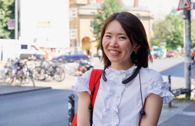 現在ドイツ語を勉強中のフリーランス秘書、高西愛美さん
