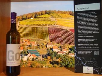 ザクセン地方ならではのゴールドリースリング種のワイン