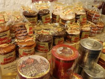 ニュルンベルクのエリーゼンレープクーヘンはナッツをたっぷり使用。