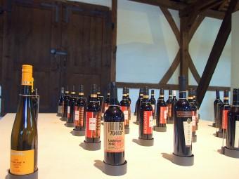 シュトゥットガルトのワイン醸造博物館にはショップやワインバーも併設。