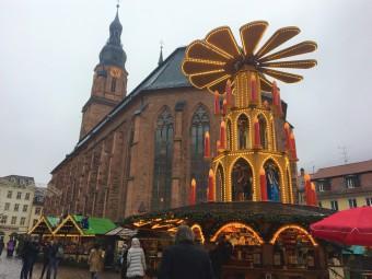 留学先Heidelbergのクリスマスマーケット