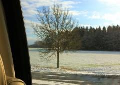 ドイツでは既に雪が降っています。