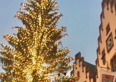 クリスマスマーケット発祥の地、Frankfurt