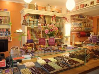 可愛くて美味しいチョコがぎっしりつまったラブリーなお店!