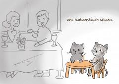 【今週のドイツ語】am Katzentisch sitzen