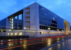 ベルリンのドイツ外務省