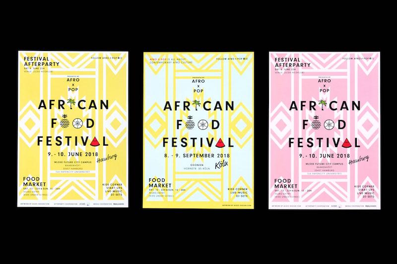 「アフリカンフードフェスティバル」イベントデザインを担当。 © Mizuki Kin
