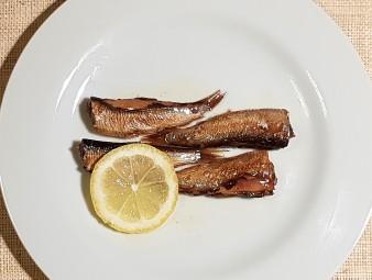小さなニシンの燻製キーラ―シュプロッテンは最高のおつまみ!