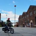 息子1歳半、ドイツ・ドルトムントで子乗せ電動アシスト自転車はじめました Photo: Aki SCHULTE-KARASAWA