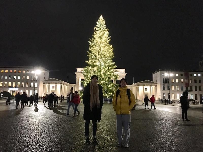 ベルリンで迎えたクリスマス。