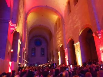 修道院の教会ではコンサートが開催されることも。
