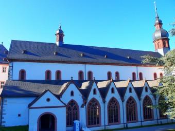 森の中にたたずむエーバーバッハ修道院。中世の時代からワイン造りが続けられてきた「聖地」
