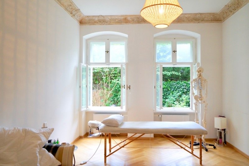 「ベルリン整体」の施術室は2つあります。