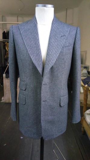 城田さんが作ったスーツ。