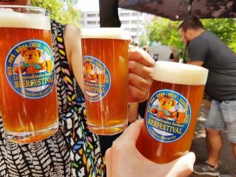 達人のイチオシ、ベルリン「Rollberg」の赤ビール。コクがあってフルーティでめちゃくちゃおいしい!