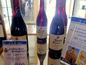 ボルドーワインをリューベックで熟成させたロート・シュポン