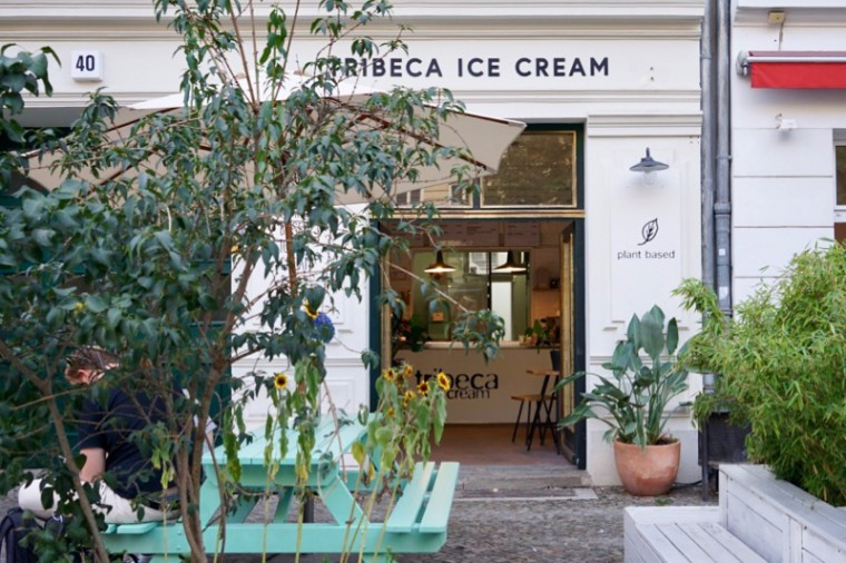 アイス屋さん、Tribeca ice cream。