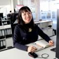 照明デザイナーとしてドイツの会社で働く大橋麻未さん。