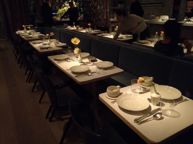 ニューヨーク時代、レストランの現場にて。