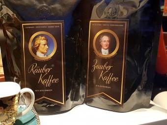 ゲーテ(右)とシラー(左)のコーヒー