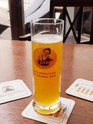 ライプツィヒ以外ではなかなかお目にかかれない珍しいビール。