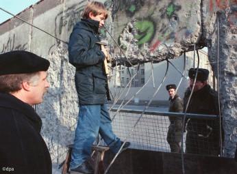 Berliner Mauer - Mauerspecht