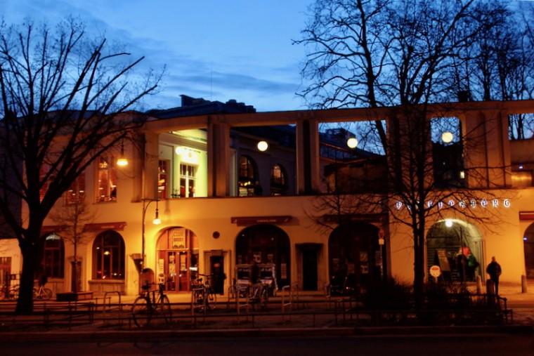 複合施設となった元醸造所プフェファーベルク