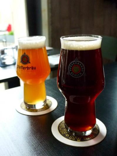 プフェファーベルクのビール。ベルリンの小規模醸造所Schoppe Bräu(ショッペブロイ)が造っています