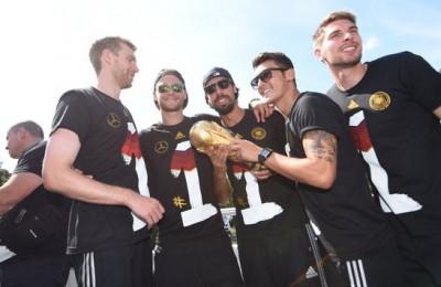 Fussball WM 2014: DFB WM-Party Berlin, 15.07.14