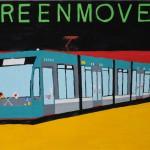『広島電鉄5000形グリーンムーバー』 安井悠己さん(広島市立井口中学校) ©わたしのドイツ2010