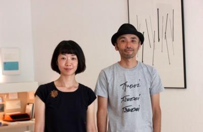ソワレをオープンした只松靖浩さん(右)・友美さん
