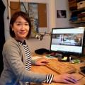 ドイツ企業の社員としてベルリンでリモートワークする塚田恵さん。