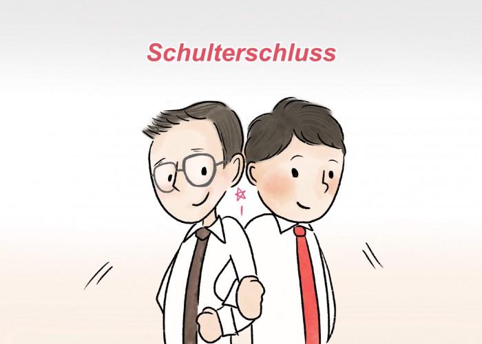 Schulterschluss