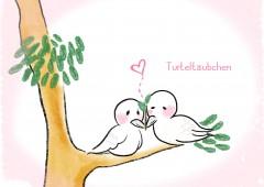 【今週のドイツ語】Turteltäubchen