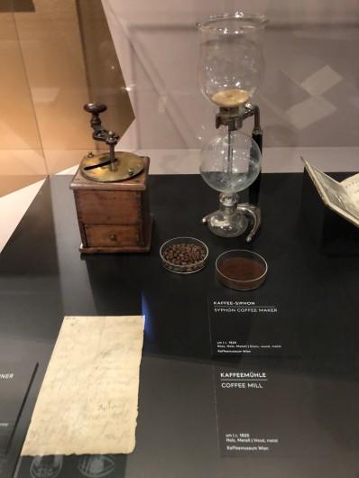 ベートーヴェンが愛用していたサイホン式コーヒーメーカー