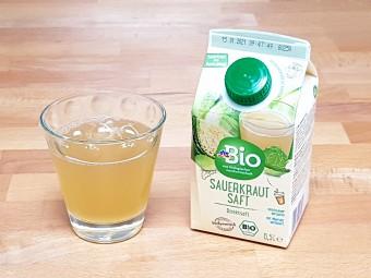 ザワークラウトのジュース。酸っぱい!!!