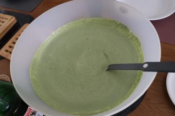 まさに緑のソース!