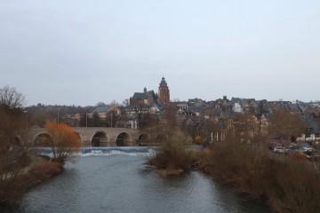 ラーン川の橋から見える旧市街