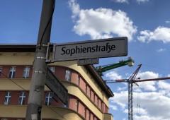 ベルリンへの道:ゾフィーエン・シュトラーセ