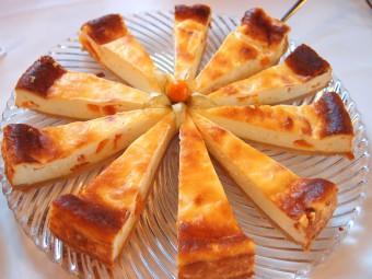 ザクセン名物チーズケーキ、アイアーシェッケ