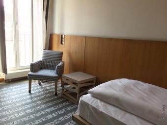 ベルリン市内のホテルの部屋は、チェックアウト後は48時間、換気と消毒をして空き室にしなければならないルールが適用されていました