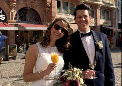結婚前夜祭と結婚式に参加!