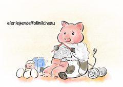【今週のドイツ語】eierlegende Wollmilchsau