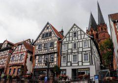 木組みの坂の街、ゲルンハウゼン