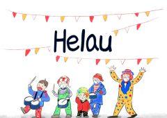 【今週のドイツ語】Helau