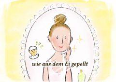 【今週のドイツ語】wie aus dem Ei gepellt