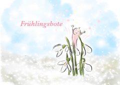 【今週のドイツ語】Frühlingsbote